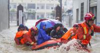 江西强降雨持续:25县降雨超过100毫米 逾两百万人受灾