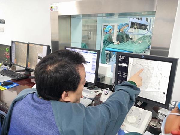 陜西省第四人民院心血管內科成功完成首例希氏束起搏植入術